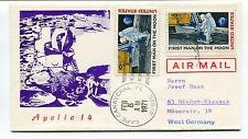 1971 Apollo 14 Cape Canaveral Florida West Germany US 1st Man Moon Space Cover