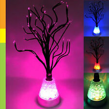 New Magic 7 Color Changing LED Tree Blossom Mood Night Light Desk Floor Lamp