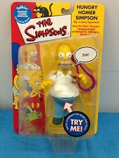 Simpsons Carry Along Clip-on figure - Re:Play - Hungry Homer Simpson