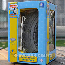 THOMAS & FRIENDS TOYS TRAIN TAKE ALONG CURVED & STRAIGHT TRACK PACK 22 PIECES