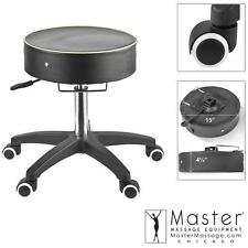 Master Adjustable Rolling Working Stool Massage Medical Office- Thick Cushion