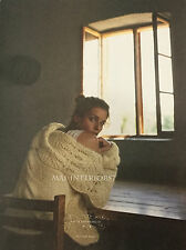 Anthropologie Rare Cable Blanket Cardigan Size S M