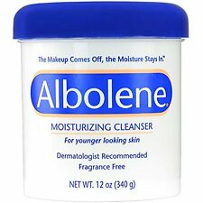 2 Pack - Albolene Moisturizing Cleanser 12oz Each