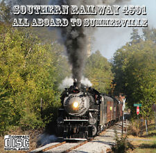 Train Sound CD: Southern Railway 4501: All Aboard To Summervile: Cab & trackside
