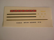 DECALS KIT 1/12 BRIAN RESMAN PORSCHE  F1 DECAL