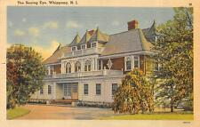 WHIPPANY, NJ  New Jersey    THE SEEING EYE-Guide Dog School     1942 Postcard