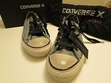 NEW Converse X John Varvatos Chuck Taylor Ox Black /Beluga Size Men 8 Women 10