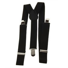 Adjustable Brace Clip-on Unisex Pants Elastic Adult Child Y-back Suspender-Y GD