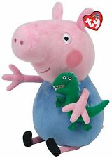 TY PEPPA PIG BUDDY -GEORGE -SOFT TOY  12 INCHES (30CM) GENUINE TY ITEM UK SELLER
