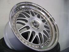 4 Felgen S3 Edition 8.5X18+9.5X18  zweiteilig Silber/poliertes Aussenbett