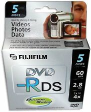 20-Pak =FUJIFILM= Mini DVD-R =Double Sided= 2.8GB 60-Min for Sony Camcorders