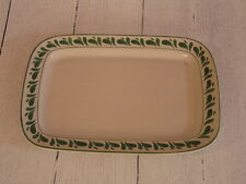 Williams Sonoma Anfora Verde Rectangular Platter, Made in Mexico - NEW