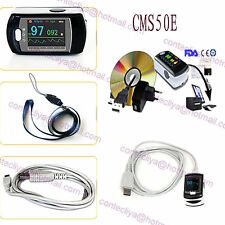 24 Hour CMS50E FDA CE New SPO2 PR Monitor,Pulse Oximeter + USB+ Audio Alarm +SW
