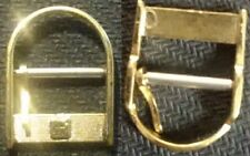 "Original Mondia - Zenith ""closed"" Buckle Fibbia 14mm inner YGP from 1970 L@@K !"