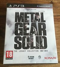 Metal Gear Solid The Legacy Collection 1987-2012 Neuf Sous Blister Sony PS3 VF