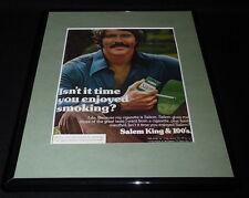 1979 Salem King & 100s Cigarettes Framed 11x14 ORIGINAL Vintage Advertisement