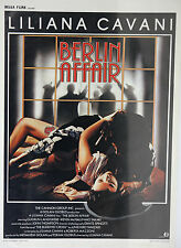 *Vintage The Berlin Affair Belgian Mini Film Poster - French Belga Films 1985