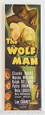 Wolf Man FRIDGE MAGNET (1.5 x 4.5 inches) insert movie poster chaney werewolf