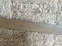 """Parting Off Tool Blade, J &S  7/8"""" X  .131"""" X   5"""""""