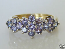 Beautiful 9ct Gold Tanzanite Ring Size K