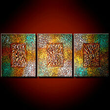 CONTEMPORARY TEXTURED Oil PAINTING art modern abstract DECOR artwork large wall
