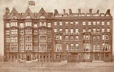 Bedford Hotel Southampton Row London Advert pc used 1919
