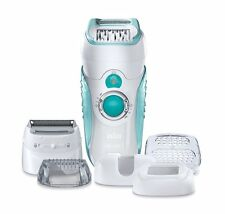 Braun Silk Epil 7-751 Wet & Dry Dual Epilator w/ 5 attachments - SE7751