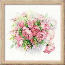 "Counted Cross Stitch Kit RIOLIS - ""Watercolour Roses"""