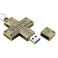 Fastdisk Crystal Cross USB 3.0 Flash Pen Drive Disk 16GB 16G Super Memory Stick