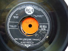 ELVIS PRESLEY Are you lonesome tonight / i gotta now 45 RCA 1216  UK