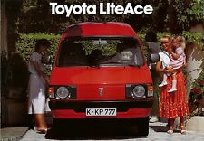 Toyota Lite Ace Prospekt 6 81 brochure 1981 Auto PKWs Japan Autoprospekt Asien