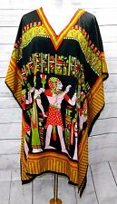JESSICA TAYLOR WOMEN PLUS ONE FREE SIZE SHORT EGYPT PHARAOH KAFTAN TOP DRESS
