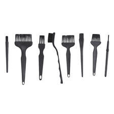 8PCS Black Plastic Handle ESD Anti-Static Brush Cleaner for PCB Motherboards NEW