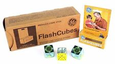 LOT OF 36 NIB GENERAL ELECTRIC FLASHCUBES 12 PACKS OF 3 CUBES 37526