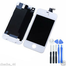 Replacement LCD Digitizer Display Assembly Touch Screen For iPhone4S +Back Cover