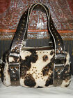 DOLCE GABBANA BAG REAL FUR + GOLDEN LEATHER 100% AUTHENTIC D&G ANIMAL PRINT RARE