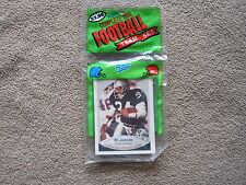 1990 OAKLAND RAIDERS *FLEER* (14) FOOTBALL CARD WITH BO JACKSON TEAM SET