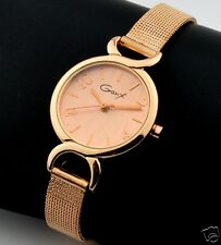 Designed Woman Watch - Hot Selling Metal Strap Ladies Watches - Rose Gold