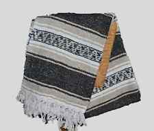 MEXICAN Falsa Blanket NEW Size 75 * 55 Color brown and white.