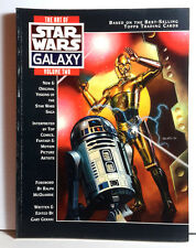 Original 1994 Art of Star Wars Galaxy Vol 2 Softcover Book from Topps-UNREAD
