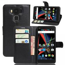 Archos Diamond 2 Plus SCHUTZ HÜLLE HANDY TASCHE CASE COVER KLAPP HÜLLE WALLET