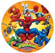 DECOPAC Spiderman Spidey & Friends BIRTHDAY CAKE TOPPER TOY SET*  NEW
