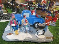 "TRAIN GARDEN HOUSE VILLAGE CARNIVAL  ""GAME TAIL-GATE PARTY"" + DEPT 56/LEMAX info"