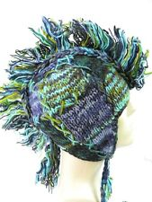 R643 NEW Gorgeous Hand Knitted Ear Flap Woolen Hat/Cap Made in Nepal