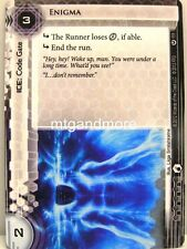 Android netrunner LCG - 1x máquina enigma #111 - Cyber era Corporation draft Pack