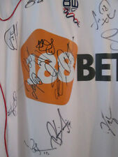 Bolton 2010-2011 Squad Signed Player Issue Football Shirt with COA /16202
