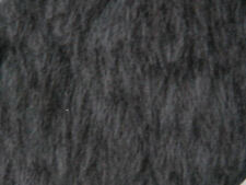 Dark Grey Plain Faux Fur Fabric Short Hair 150cm Wide SOLD BY THE METRE