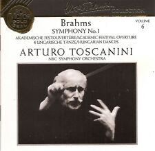 Brahms - Symphony No.1 • Academic Festival Overture / NBC SO • Toscanini