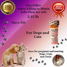 Flea Killer Dogs / Cats 2-15lb 6x micro 10mg generic Capstar Sealed Control