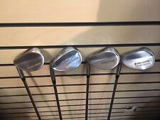 Mens Left Handed Oncourse Stainless Wedge set: 4-wedges, 50,55,60,65 steel, NEW